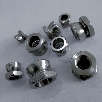 STAINLESS STEEL MACHINED & TURNED FASTENERS (ANTI THEFT NUT)