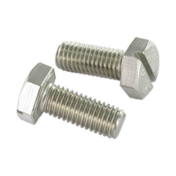 Hex Slotted Flange Bolts Manufacturers in India