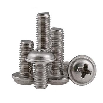 phillips pan washer head machine screws