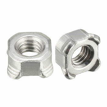 We are a unique entity in the industry, actively committed towards manufacturing a qualitative range of Square Weld Nut.